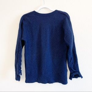 3.1 Phillip Lim | Soft Wool Knotted Lace Sweater